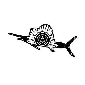 Sailfish Mandala Animals SVG