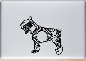 Schnauzer Hot Summer Mandala Designs
