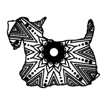 Scottie Dog Mandala Animal SVG