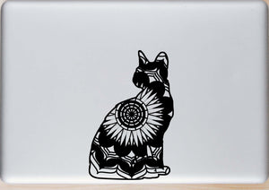 Sitting Cat Mandala Animals SVG