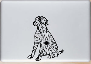 Sitting Dog Mandala - Sitting Dog Mandala Svg -