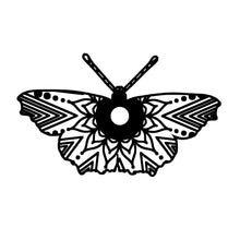 Small Tortoiseshell Butterfly Mandala Animal SVG