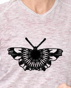 Small Tortoiseshell Butterfly Mandala Monogram Free SVG, DXF, PNG, EPS DOWNLOAD