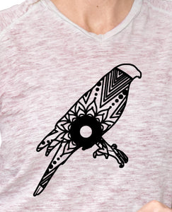 Sparrow Hawk Mandala Animal SVG