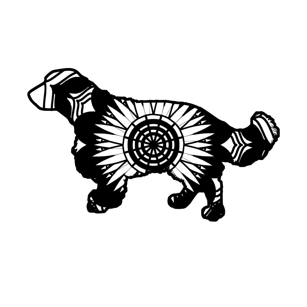 Springer Spaniel Mandala Animals SVG