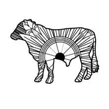 Steer Mandala SVG