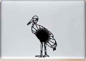 Stork Mandala Animal SVG, PNG, DXF & EPS Cut File Download