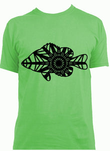 Sunfish Mandala Winter SVG