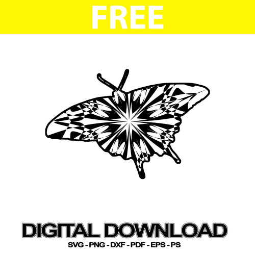 Swallowtail Butterfly Svg Free