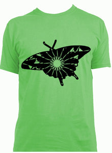 Swallowtail Butterfly Mandala Winter SVG
