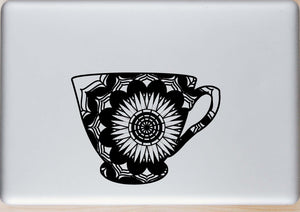 Tea Cup Mandala Animals SVG