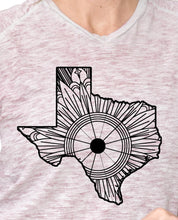 Texas Map Mandala SVG