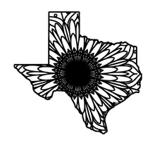 Texas Map Mandala - Texas Map Mandala Svg - Texas Map Animal Mandala Svg - Texas Map Mandala Monogram