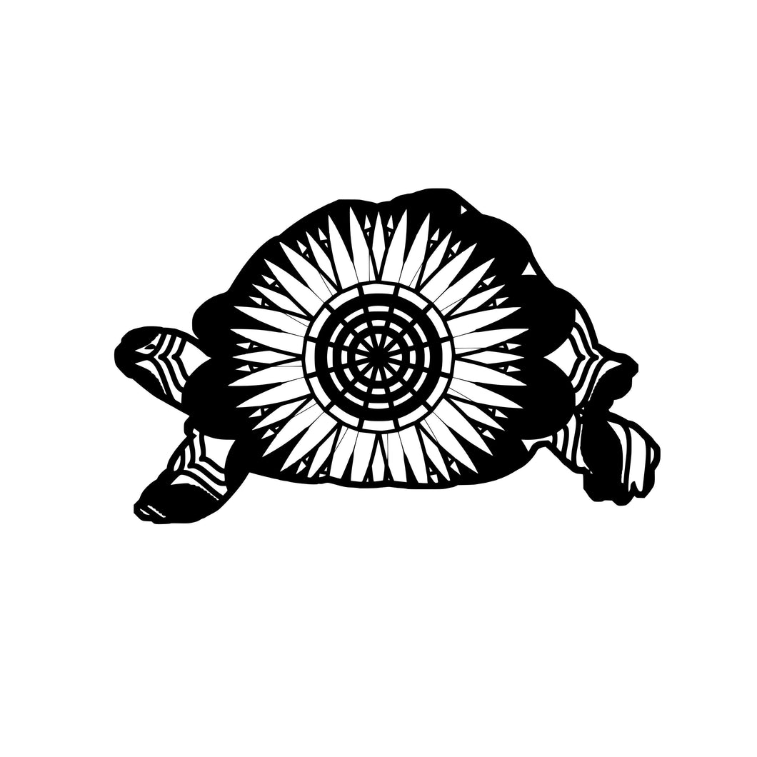 Tortoise Mandala Animals SVG