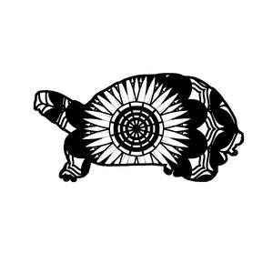 Turtle Mandala Animals SVG