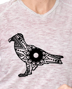 Vulture Mandala Animal SVG