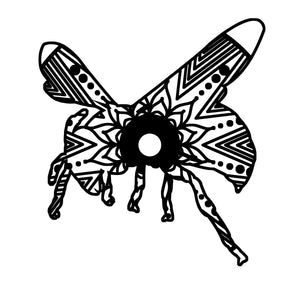 Wasp Mandala Animal SVG