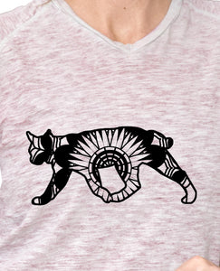 Wild Cat Mandala Animals SVG