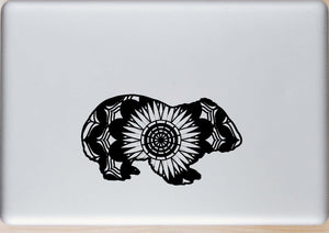 Wombat Mandala Animals SVG
