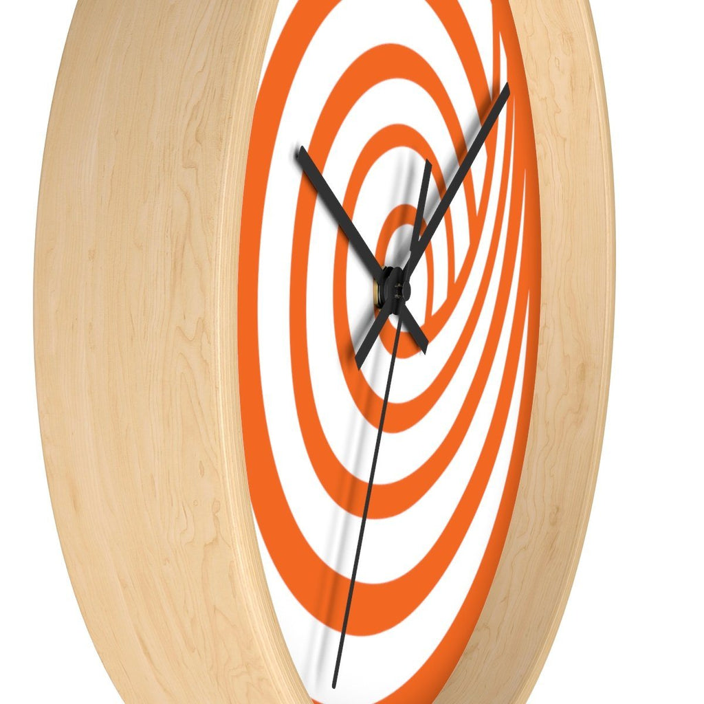 ClickHole Swirl Wall clock  from The Onion Store