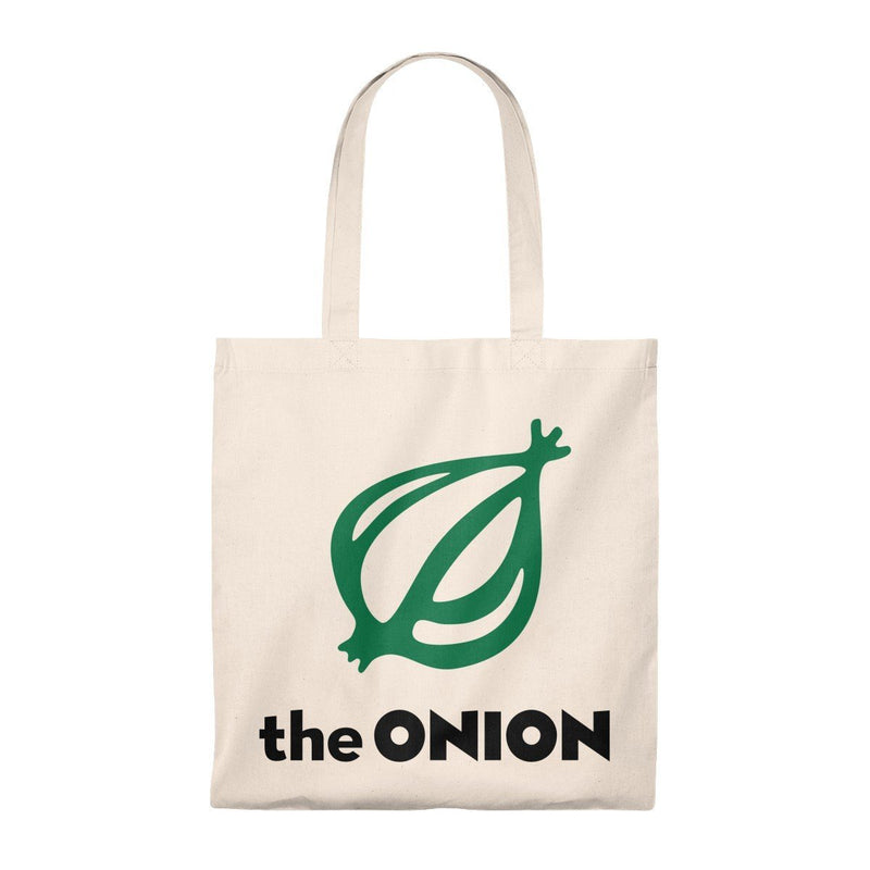 America's Finest Lightweight Tote Bag Natural/Natural / Small from The Onion Store