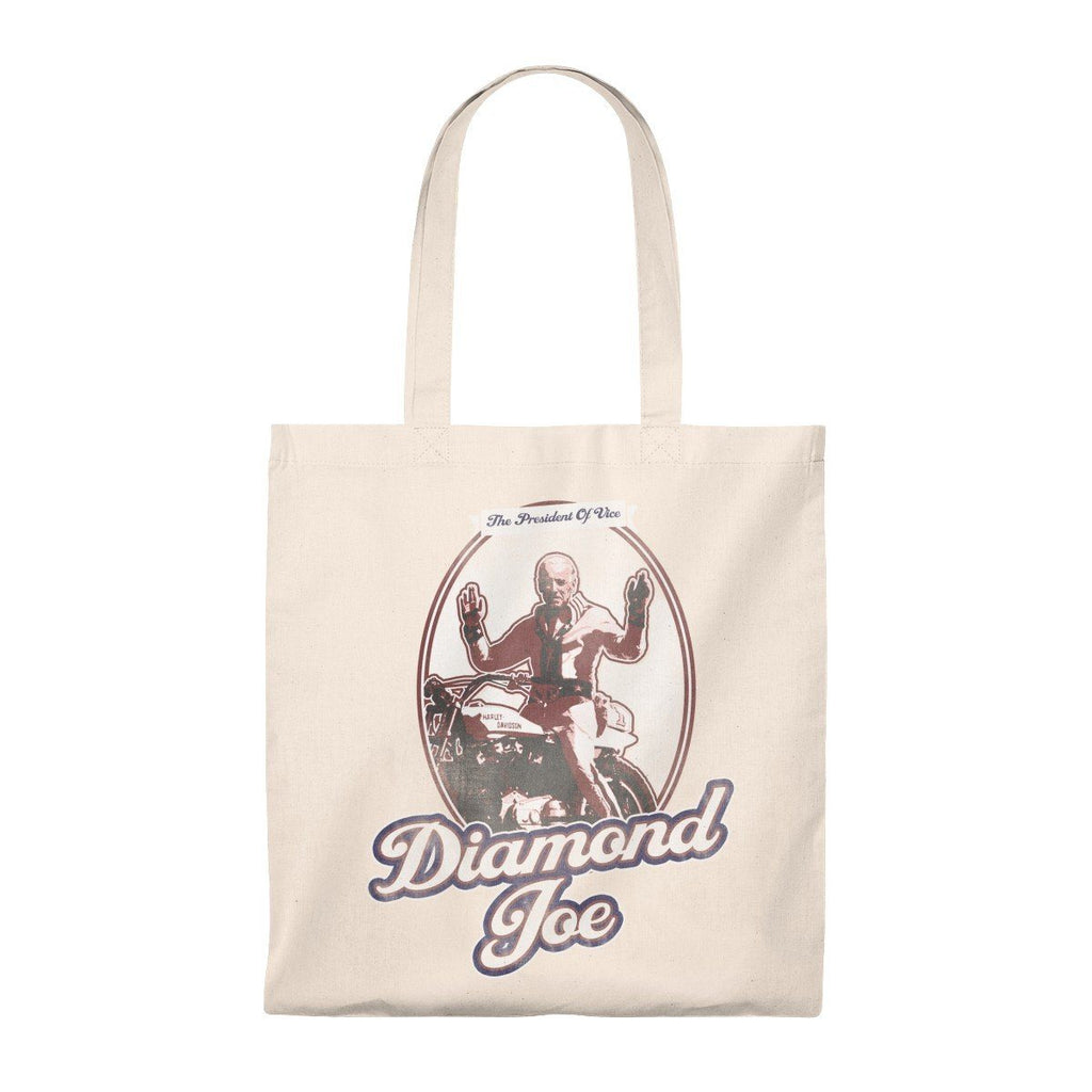 Diamond Joe Biden Lightweight Tote Bag from The Onion Natural/Natural from The Onion Store
