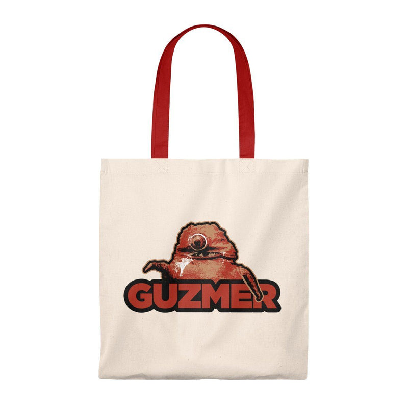 ClickHole's Guzmer Light Weight Tote Bag Natural/Red from The Onion Store