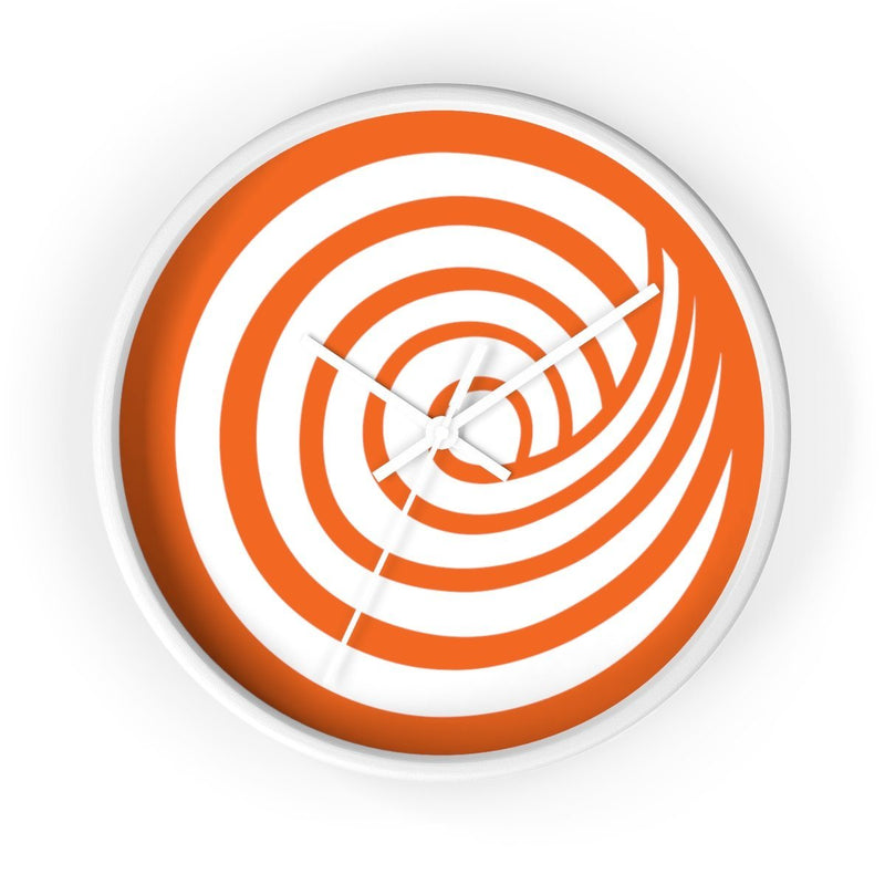 ClickHole Swirl Wall clock White / White from The Onion Store
