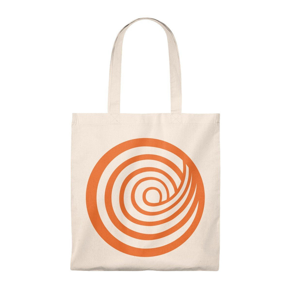 ClickHole Swirl Lightweight Tote Bag Natural/Natural from The Onion Store