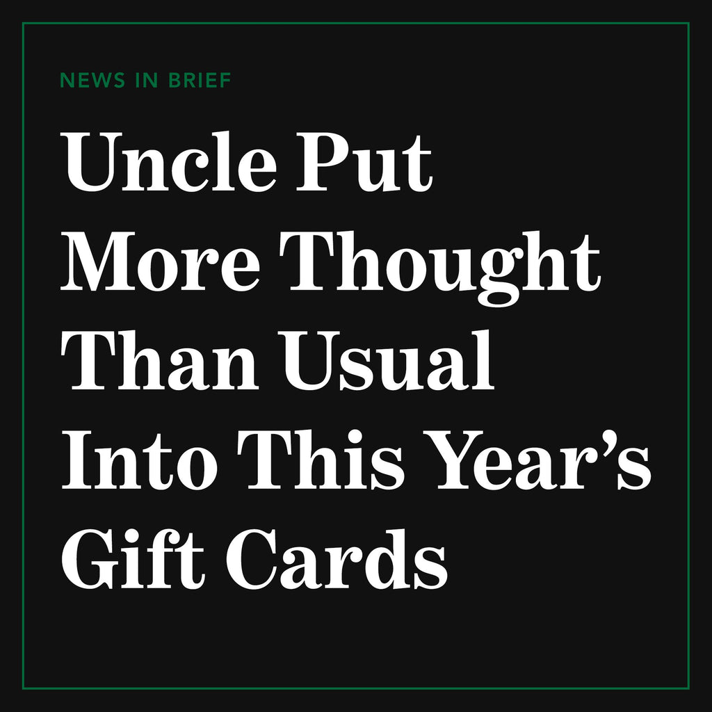 Gift Card $250.00 from The Onion Store