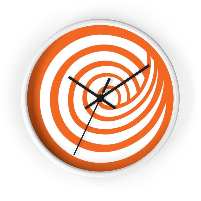 ClickHole Swirl Wall clock White / Black from The Onion Store