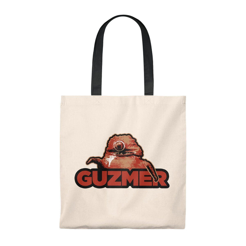 ClickHole's Guzmer Light Weight Tote Bag Natural/Black from The Onion Store