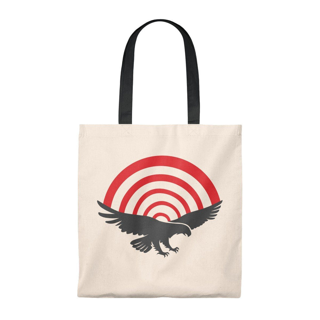 PatriotHole Light Weight Tote Natural/Black / Small from The Onion Store