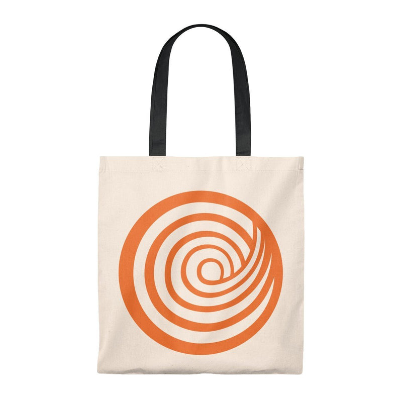 ClickHole Swirl Lightweight Tote Bag Natural/Black from The Onion Store