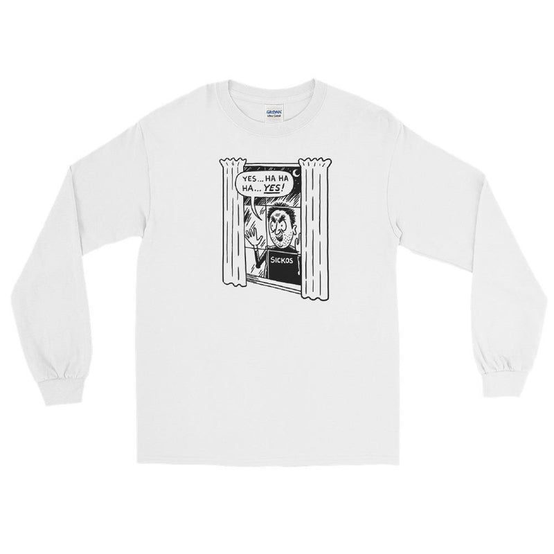 Cartoon Sickos Unisex Long Sleeve Shirt