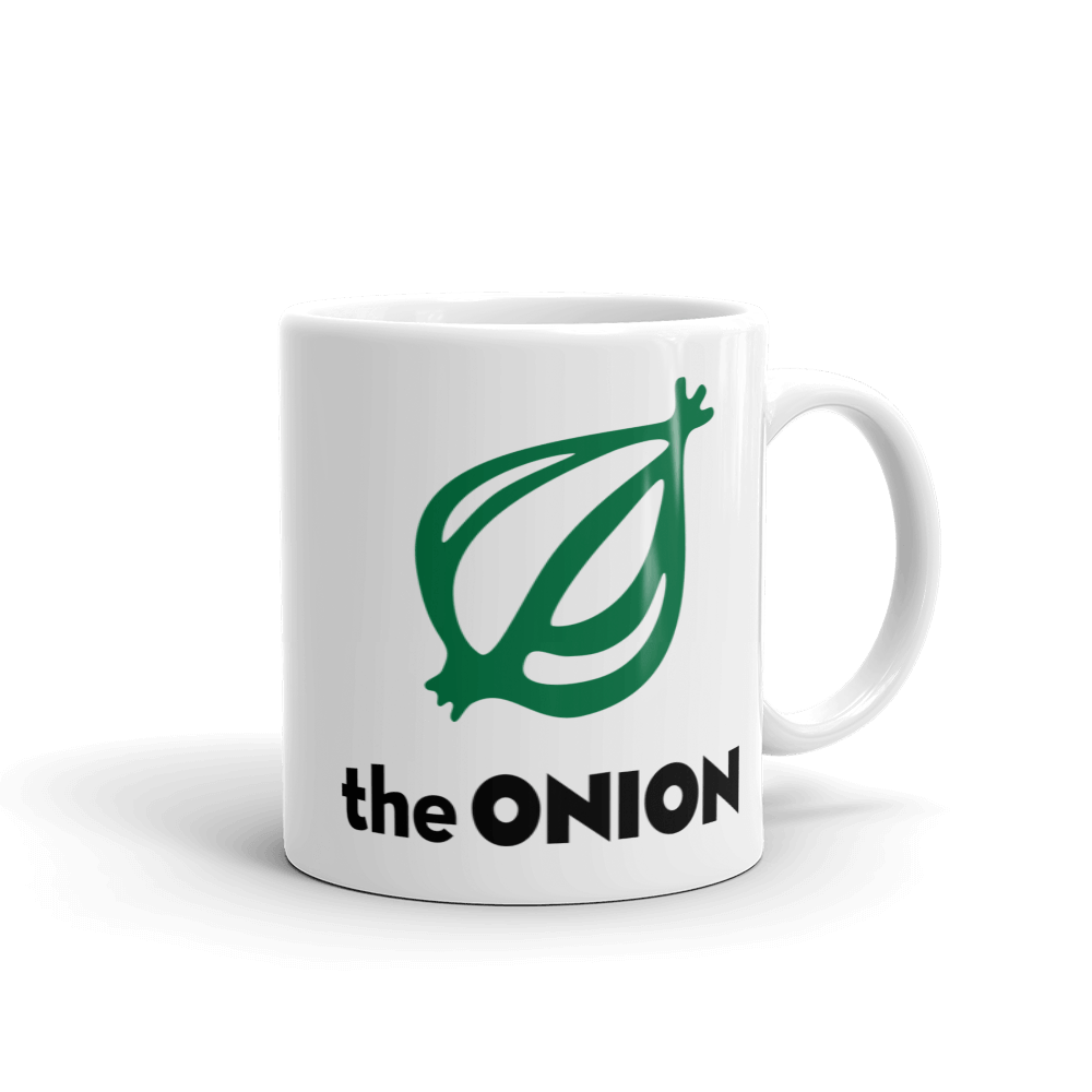 The Onion's 'I Enjoy Colombia's Second-Finest Export' Coffee Mug
