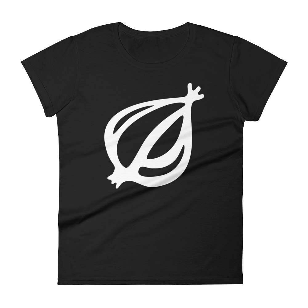 The Onion's 'Oversized Dingbat' Women's Cut T-Shirt Black / 2XL from The Onion Store