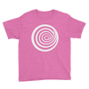 ClickHole Swirl Kids T-Shirt Heather Hot Pink / XL from The Onion Store
