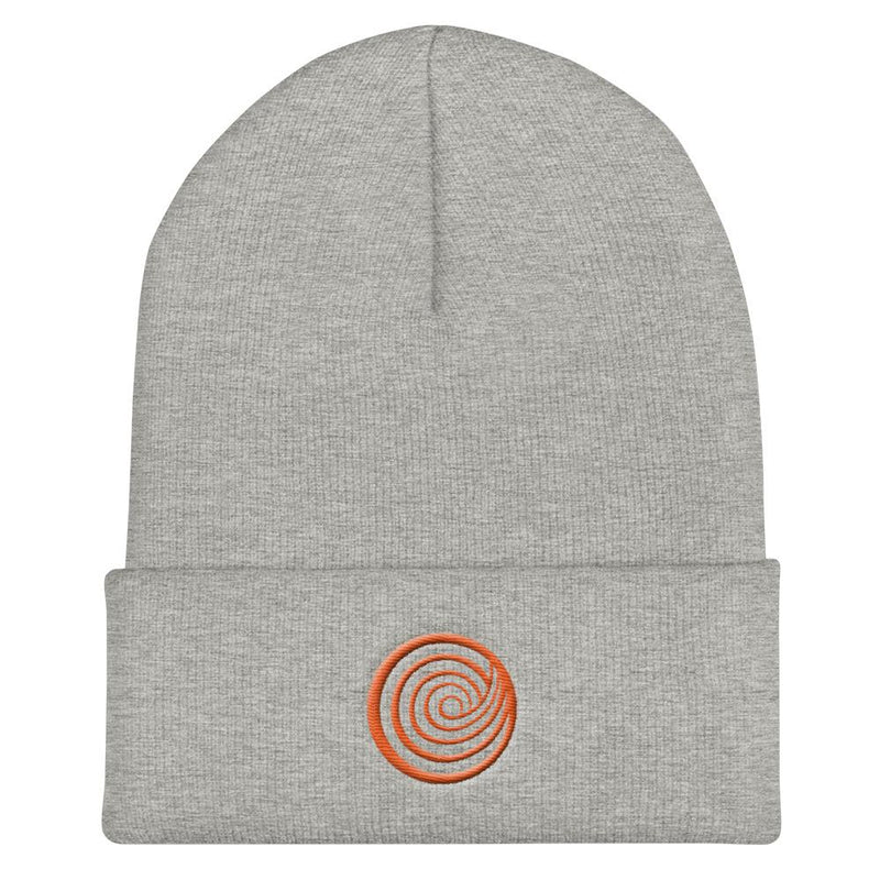 ClickHole Swirl Beanie Heather Grey from The Onion Store