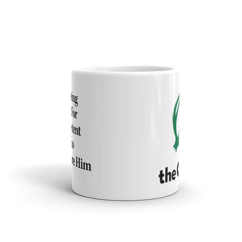 The Onion's 'Man Losing Respect For Incompetent Boss Who Won't Fire Him' Coffee Mug