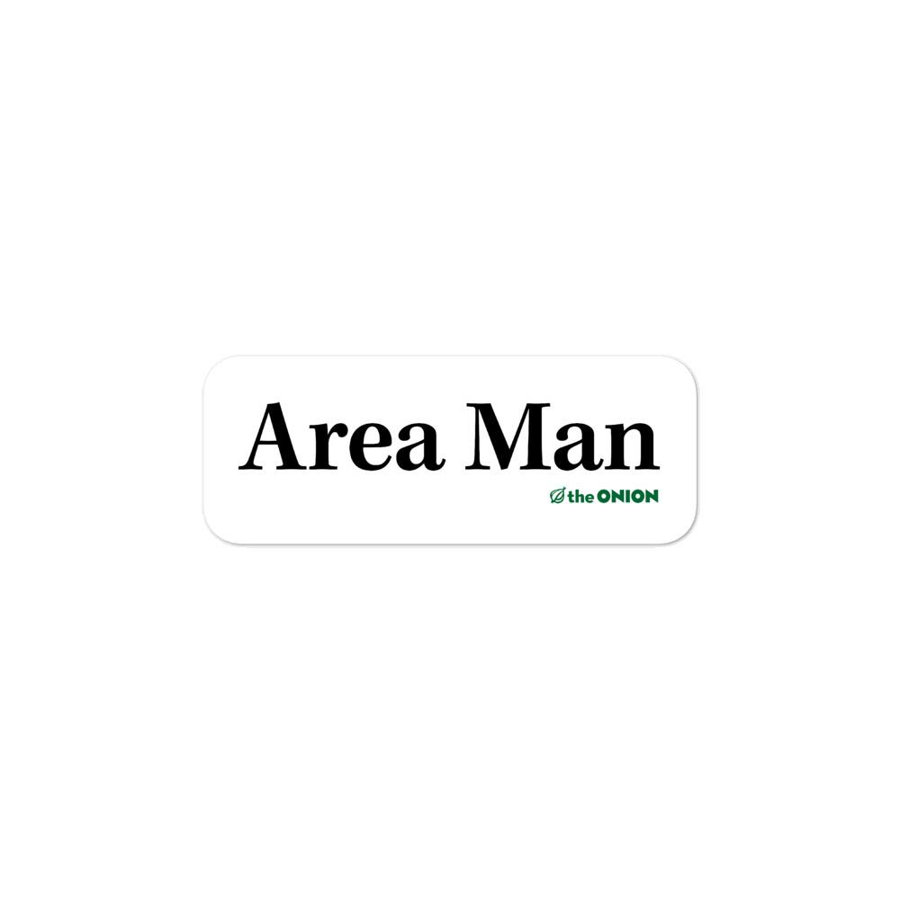 Area Man Stickers