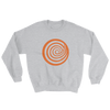 ClickHole Swirl Crewneck Sweatshirt Sport Grey / 5XL from The Onion Store