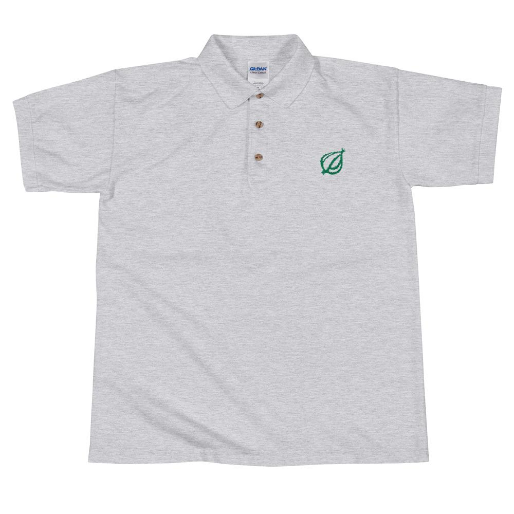 The Onion Dingbat Polo Shirt Sport Grey / 2XL from The Onion Store