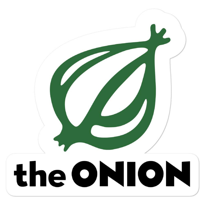 The Onion Logo Stickers