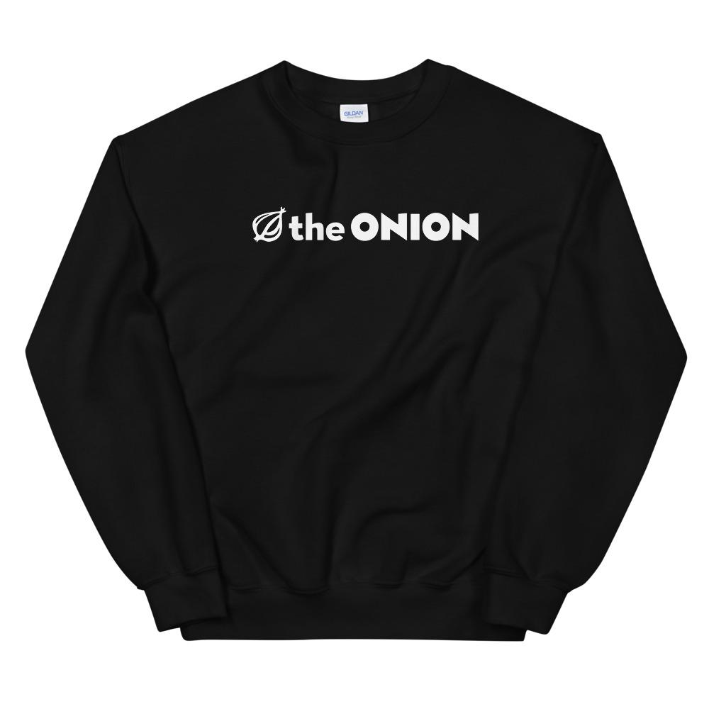 The Onion's Logo Crewneck Unisex Sweatshirt