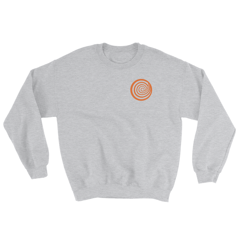 ClickHole's 'Small Swirl' Crewneck Sweatshirt Sport Grey / 5XL from The Onion Store