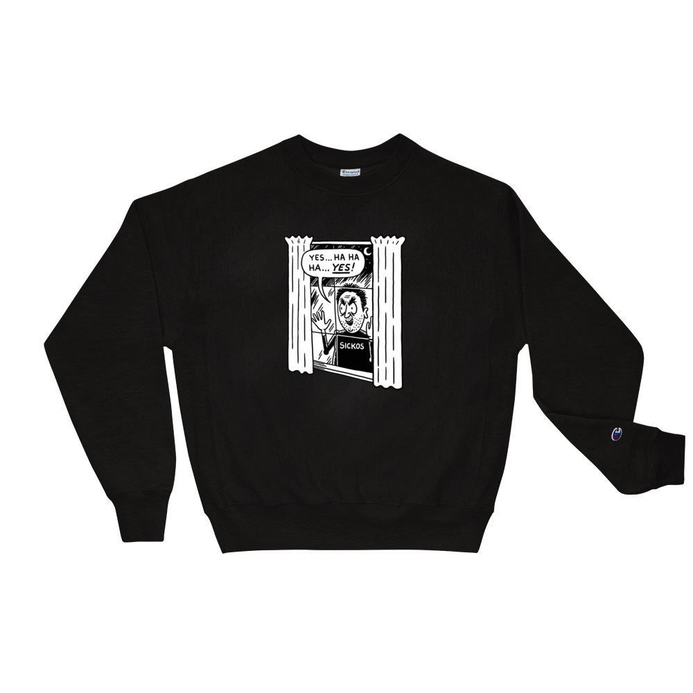 Cartoon Sickos Champion Sweatshirt