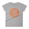 'Giant ClickHole Swirl' Women's Cut T-Shirt from ClickHole Heather Grey / 2XL from The Onion Store