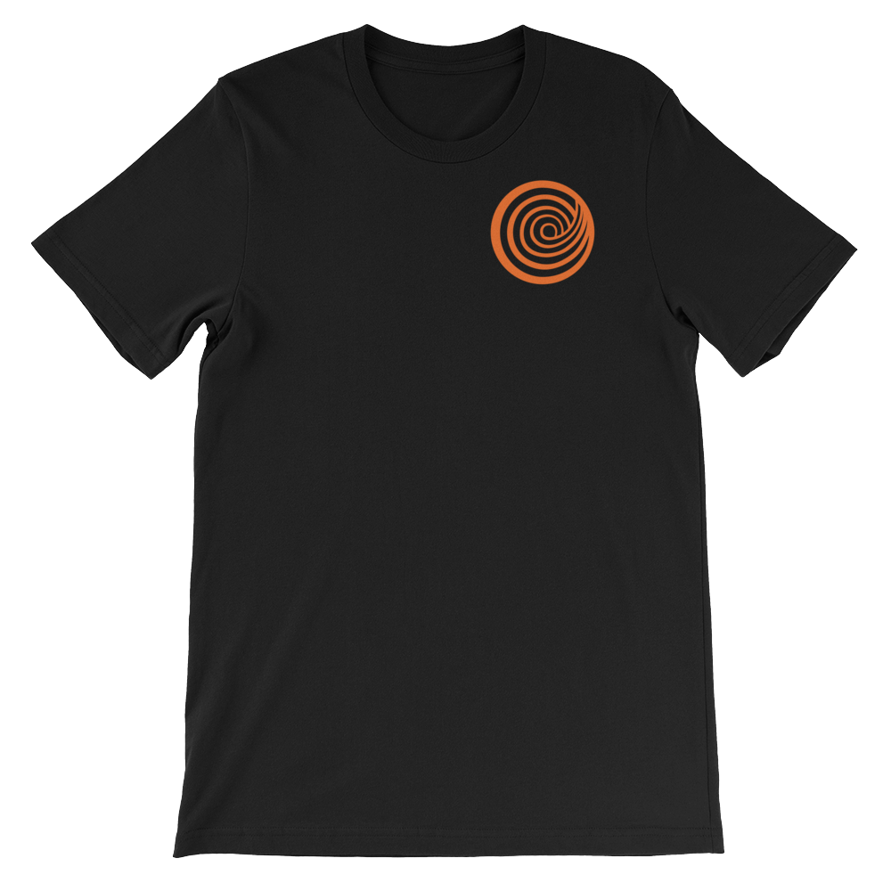 The ClickHole Swirl T-Shirt Black / 4XL from The Onion Store