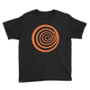 ClickHole Swirl Kids T-Shirt Black / XL from The Onion Store